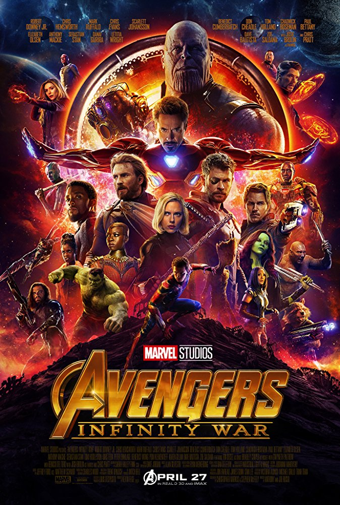 View Torrent Info: Avengers: Infinity War (2018) TS x264 - YIFY